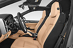 Front seat view of a 2014 Porsche Cayenne Platinum Edition 5 Door SUV Front Seat car photos