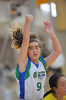 Waitakere West's Annalina Crosbie in action during the National Under-15 Basketball Championship at the ASB Sports Centre, Kilbirnie, Wellington, New Zealand on Thursday, 25 July 2013. Photo: Dave Lintott / lintottphoto.co.nz