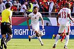 Saeed Almurjan of Jordan (C) in action during the AFC Asian Cup UAE 2019 Round of 16 match between Jordan (JOR) and Vietnam (VIE) at Al Maktoum Stadium on 20 January 2019 in Dubai, United Arab Emirates. Photo by Marcio Rodrigo Machado / Power Sport Images