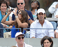 FLUSHING NY- SEPTEMBER 3: Nacho Figueras is sighted watching Serena Williams Vs Andrea Hlavackova match on Arthur Ashe stadium at the USTA Billie Jean King National Tennis Center on September 3, 2012 in in Flushing Queens. Credit: mpi04/MediaPunch Inc. ***NO NY NEWSPAPERS*** /NortePhoto.com<br /> <br /> **CREDITO*OBLIGATORIO** <br /> *No*Venta*A*Terceros*<br /> *No*Sale*So*third*<br /> *** No*Se*Permite*Hacer*Archivo**<br /> *No*Sale*So*third*