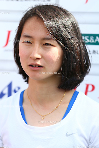 Sae Tsuji,<br /> MAY 1, 2016 - Athletics :<br /> Japan Para Athletics Championships<br /> Women's 200m T47 Final<br /> at Coca Cola West Sports Park, Tottori, Japan.<br /> (Photo by Shingo Ito/AFLO SPORT)