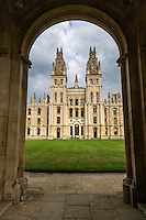UK, England, Oxford.  Codrington Library, All Souls College.