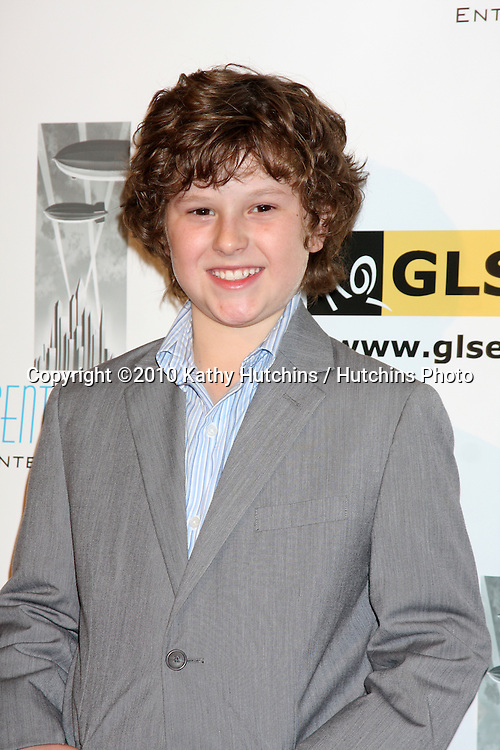 LOS ANGELES - OCT 8:  Nolan Gould arrives at the Gay, Lesbian and Straight Education Network  Respect Awards at Beverly Hills Hotel.Theatre on October 8, 2010 in Beverly Hills, CA