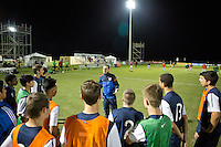 Lakewood Ranch, Fla. - December 12, 2013: 2013 Development Academy Winter Showcase. U-17/18 Select match Blue and Red played to a 0-0 draw at the Premier Sports Campus.