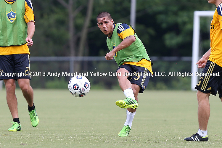 28 May 2013: Rafael Garcia. The Los Angeles Galaxy held a training session on Field 3 at WakeMed Soccer Park in Cary, NC the day before playing in a 2013 Lamar Hunt U.S. Open Cup third round game.