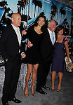 "HOLLYWOOD, CA - MARCH 22: Bruce Willis, Emma Heming, Jerry Weintraub and guest attend HBO's ""His Way"" Los Angeles Premiere at Paramount Theater on the Paramount Studios lot on March 22, 2011 in Hollywood, California."