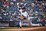 Masahiro Tanaka (Yankees), SEPTEMBER 13, 2015 - MLB : Masahiro Tanaka of the New York Yankees pitches in the first inning during the Major League Baseball game against the Toronto Blue Jays at Yankee Stadium in the Bronx, New York, United States. (Photo by Hiroaki Yamaguchi/AFLO)
