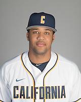 BERKELEY, CA - October 14, 2016: Lorenzo Hampton, Jr. Cal Baseball Portraits