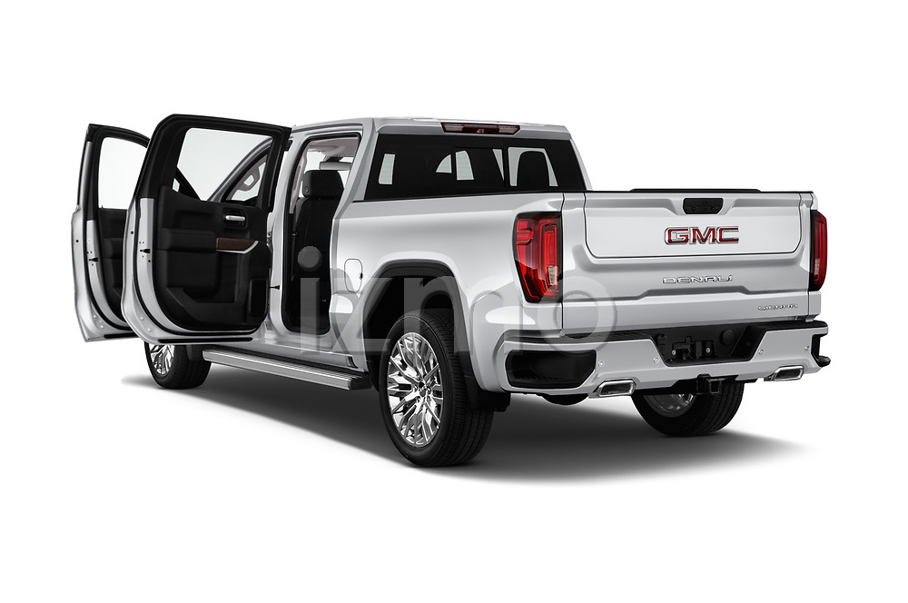 Car images close up view of a 2019 GMC Sierra 1500 Denali Base 4 Door Pick Up doors