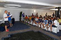Reunión de patrones .LXVI CAMPEONATO DE ESPAÑA DE PATÍN A VELA, Club de Vela la Dehesa del 26 al 29 de Agosto de 2009