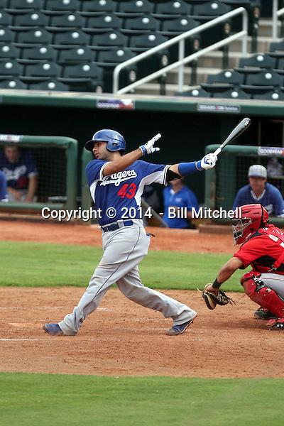 Julian Leon - 2014 AIL Dodgers (Bill Mitchell)
