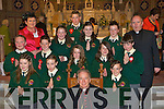 Students from Scartaglen NS who received their confirmation in St Stephens and Johns church Castleisland on Monday