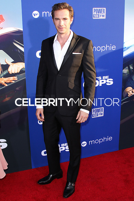 "HOLLYWOOD, LOS ANGELES, CA, USA - AUGUST 07: James D'Arcy at the Los Angeles Premiere Of 20th Century Fox's ""Let's Be Cops"" held at ArcLight Cinemas Cinerama Dome on August 7, 2014 in Hollywood, Los Angeles, California, United States. (Photo by Xavier Collin/Celebrity Monitor)"