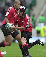 25/05/2002 (Saturday).Sport -Rugby Union - London Sevens.Canada vs France (Final) .France winning final.Matt Cohen[Mandatory Credit, Peter Spurier/ Intersport Images].