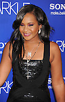 HOLLYWOOD, CA - AUGUST 16: Bobbi Kristina Brown  arrives for the Los Angeles premiere of 'Sparkle' at Grauman's Chinese Theatre on August 16, 2012 in Hollywood, California.