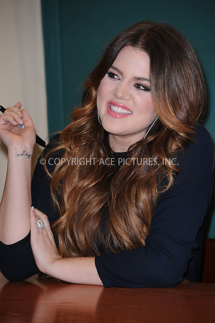"WWW.ACEPIXS.COM . . . . . .November 16, 2011...New York City....Khloe Kardashian signs copies of ""Dollhouse"" at Barnes & Noble, 5th Avenue on November 16, 2011 in New York City....Please byline: KRISTIN CALLAHAN - ACEPIXS.COM.. . . . . . ..Ace Pictures, Inc: ..tel: (212) 243 8787 or (646) 769 0430..e-mail: info@acepixs.com..web: http://www.acepixs.com ."