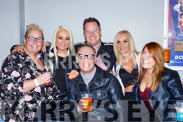 Lesley Nolan, Lorraine Kavanagh, James Brennan, kenny Brennan, Nicole Morris and Lynda Hughes Tralee at the Jenny Greene concert in the INEC on Saturday night