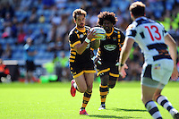 Danny Cipriani of Wasps in possession. Pre-season friendly match, between Wasps and Yorkshire Carnegie on August 21, 2016 at the Ricoh Arena in Coventry, England. Photo by: Patrick Khachfe / JMP