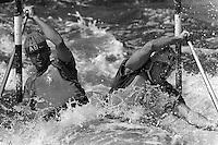 Pix:Michael Steele/SWpix...Canoe slalom, Llangollen...COPYRIGHT PICTURE>>SIMON WILKINSON..Canoe Slalom, Llangollen.