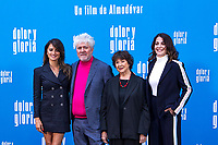 (L-R) Penelope Cruz, Pedro Almodovar, Julieta Serrano and Nora Navas attend the photocall of the movie 'Dolor y gloria' in Villa Magna Hotel, Madrid 12th March 2019. (ALTERPHOTOS/Alconada) /NortePhoto.con NORTEPHOTOMEXICO
