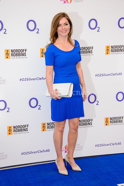 WWW.ACEPIXS.COM<br /> <br /> July 3 2015, London<br /> <br /> Gerri Halliwell arriving at the Nordoff Robbins O2 Silver Clef Awards at the Grosvenor House Hotel on July 3 2015 in London. <br /> <br /> By Line: Famous/ACE Pictures<br /> <br /> <br /> ACE Pictures, Inc.<br /> tel: 646 769 0430<br /> Email: info@acepixs.com<br /> www.acepixs.com