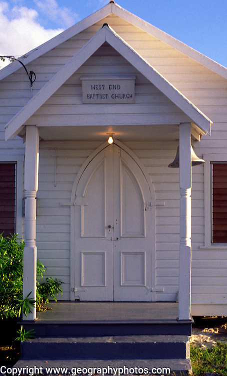 West End baptist church, Cayman Brac, Cayman Islands, British West Indies,