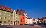 Kraków - Mały Rynek i Plac Mariacki