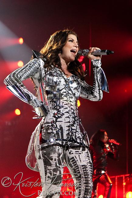Black Eyed Peas perform at Mohegan Sun Casino on February 27, 2010