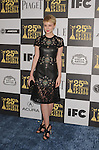 LOS ANGELES, CA. - March 05: Actress Carey Mulligan  arrives at the 25th Film Independent Spirit Awards held at Nokia Theatre L.A. Live on March 5, 2010 in Los Angeles, California.