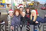 Castleisland Traders getting ready for Christmas in Castleisland on Thursday morning, were l-r: Marie Galvin (Galvin Optometrists) Mary Shanahan (La Femme) Liz Galwey, Jill Hannon (Hannons Fashions) Grace O'Connor (In Style) Sheila Costello (Flowers by Sheila).