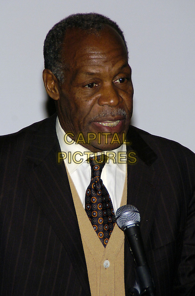 "DANNY GLOVER.Premiere of the feature documentary ""Africa Unite"" at Walter Reade Theatre, Lincoln Center, as part of the New York African Film Festival, New York, New York, USA..April 7th, 2007.headshot portrait mustache braces teeth facial hair .CAP/ADM/BL.©Bill Lyons/AdMedia/Capital Pictures *** Local Caption ***"