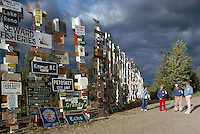 Watson Lake, YT, Yukon Territory, Canada - World Famous Sign Post Forest