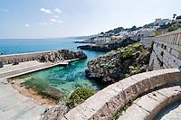 Castro Marina - Salento - Puglia - Particolari della strada che conduce al porto di Castro Marina.