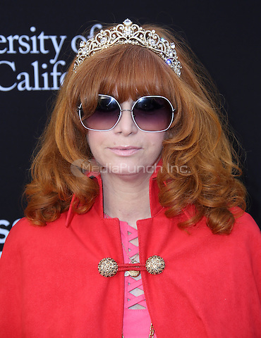 SANTA MONICA, CA - MAY 11: Linda Ramone arrives at the 3rd Biennial Rebels With A Cause Fundraiser at Barker Hangar on May 11, 2016 in Santa Monica, California.  Credit: Parisa/MediaPunch.