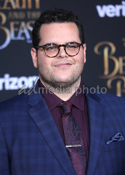"02 March 2017 - Hollywood, California - Josh Gad. Disney's ""Beauty and the Beast' World Premiere held at El Capitan Theatre. Photo Credit: AdMedia"
