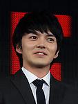 Kento Hayashi of 'HIBANA' attends Netflix contents presentation at Nicofare Tokyo Japan on 27 Jun 2016. (Photo by Motoo Naka/AFLO)