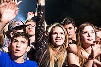 Fun Fun Fun Festival 2014<br /> Austin, Texas<br /> Girl Talk<br /> Crowd