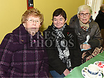Olive Brady, Mena Reilly and Peggy James at the Special Olympics coffee morning fundraiser in the Dominic house. Photo:Colin Bell/pressphotos.ie
