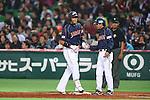 (L to R) .Atsunori Inaba (JPN), . Koichi Ogata (JPN), .MARCH 6, 2013 - WBC : .2013 World Baseball Classic .1st Round Pool A .between Japan 3-6 Cuba .at Yafuoku Dome, Fukuoka, Japan. .(Photo by YUTAKA/AFLO SPORT) [1040]