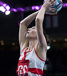 Fast5 2017<br /> Fast 5 Netball World Series<br /> Hisense Arena Melbourne<br /> Match <br /> England v Malawi<br /> <br /> Rachel Dunn<br /> <br /> <br /> Photo: Grant Treeby