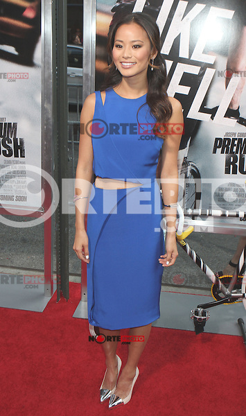 Jamie Chung (is wearing a Cushnie et Ochs dress and Zara shoes) attends the world premiere of &quot;Premium Rush&quot; at Regal Union Square in New York, 22.08.2012...Credit: Rolf Mueller/face to face /MediaPunch Inc. ***FOR USA ONLY*** ***Online Only for USA Weekly Print Magazines*** /NortePhoto.com<br /> <br /> **SOLO*VENTA*EN*MEXICO**<br /> <br /> **CREDITO*OBLIGATORIO** <br /> *No*Venta*A*Terceros*<br /> *No*Sale*So*third*<br /> *** No Se Permite Hacer Archivo**