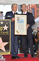 LOS ANGELES, CA. November 06, 2018: Michael Douglas &amp; Mitch O'Farrell at the Hollywood Walk of Fame Star Ceremony honoring actor Michael Douglas.<br /> Pictures: Paul Smith/Featureflash
