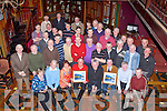 RECONITION: The Carmody Brothers Paul and Brian who were honoured in the Meadowland Hotel, Tralee on Thursday night by members of St Johns Athletic Club and Tralee by the Kerry Athletic Club and the Kerry Cpounty Board...