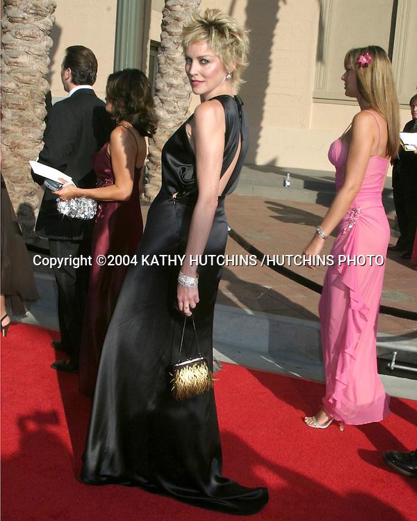 ©2004 KATHY HUTCHINS /HUTCHINS PHOTO.CREATIVE ARTS EMMYS.LOS ANGELES, CA.SEPTEMBER 12, 2004..SHARON STONE