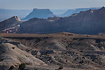 Factory Butte from Hidden Splendor Road, San Rafael Swell, Utah