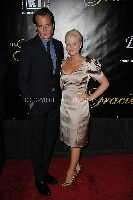 WWW.ACEPIXS.COM . . . . . ....June 3 2009, New York City....Actors Will Arnett and Amy Poehler arriving at the 34th Annual AWRT Gracie Awards Gala at The New York Marriott Marquis on June 3, 2009 in New York City.....Please byline: KRISTIN CALLAHAN - ACEPIXS.COM.. . . . . . ..Ace Pictures, Inc:  ..tel: (212) 243 8787 or (646) 769 0430..e-mail: info@acepixs.com..web: http://www.acepixs.com