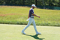 Dustin Johnson (USA) walks the second hole during the third round of the 118th U.S. Open Championship at Shinnecock Hills Golf Club in Southampton, NY, USA. 16th June 2018.<br /> Picture: Golffile | Brian Spurlock<br /> <br /> <br /> All photo usage must carry mandatory copyright credit (&copy; Golffile | Brian Spurlock)