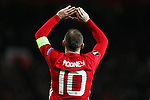 Wayne Rooney of Manchester United celebrates after scoring his sides first goal during the UEFA Europa League match at Old Trafford, Manchester. Picture date: November 24th 2016. Pic Matt McNulty/Sportimage
