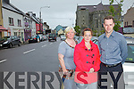 Members of Cahersiveen Tidy Town Committee who want action taken on Anti-Social Behaviour in Cahersiveen pictured here l-r Catherine Cournane, Lisa O'Shea & Vincent Devlin.
