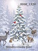 Dona Gelsinger, CHRISTMAS SYMBOLS, WEIHNACHTEN SYMBOLE, NAVIDAD SÍMBOLOS, paintings+++++,USGE1938,#xx# ,tree